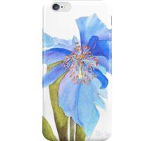 Blue Poppy Extraordinaire iPhone Case/Skin