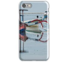 Mirrored Boat Reflections iPhone Case/Skin