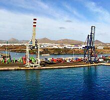 Arrecife port in Lanzarote by RecipeTaster