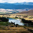 The Flathead River at Moiese, Montana, USA by Bryan D. Spellman