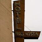 Old Hotel in Rio Vista by Barbara Wyeth
