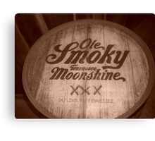 Old Smokey Mountain Brewery Canvas Print