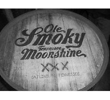 Old Smokey Moonshine Photographic Print