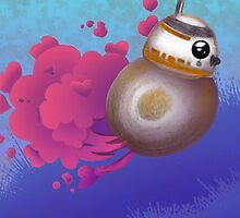 BB8 is Rollin' by Shonuff  Studio