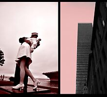 untitled; last kiss coronado; dallas buildings by Tania Palermo