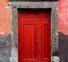 Red Door by Oscar Gutierrez