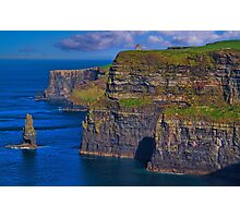 Ireland. County Clare. Cliffs of Moher. Photographic Print