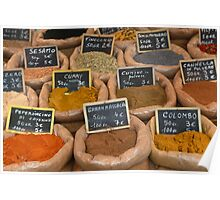 Italian Spices Poster