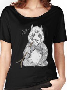 ZEN PANDA Women's Relaxed Fit T-Shirt