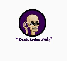 Mr Skeltal Doots back Unisex T-Shirt