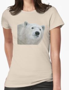 Face of a cub Womens Fitted T-Shirt