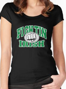 Fighting Irish Women's Fitted Scoop T-Shirt