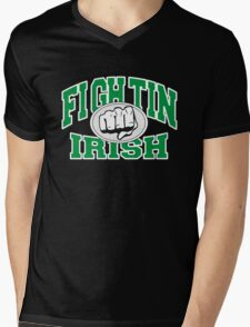 Fighting Irish Mens V-Neck T-Shirt