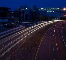 Blue Hour Traffic by Photo-Bob