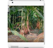 Waiting For The Children Of The Corn.... iPad Case/Skin