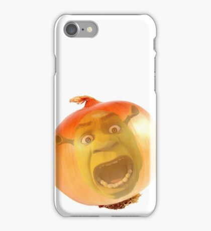Ogres are like onions iPhone Case/Skin