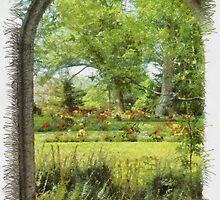 Gardens in Nova Scotia by Chantal Giroux