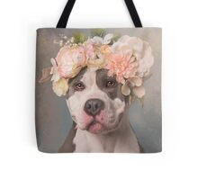 Flower Power, Bertha Bean Tote Bag
