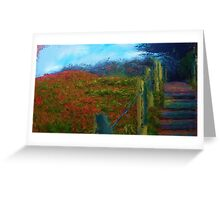 Sutro Heights Park 2, San Francisco, California Greeting Card