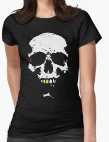 Skullboy Logo Womens Fitted T-Shirt
