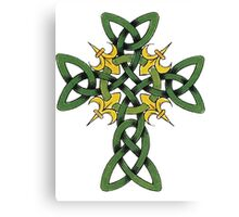 Irish Cross Canvas Print