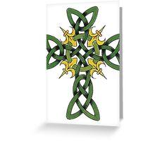 Irish Cross Greeting Card