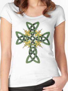Irish Cross Women's Fitted Scoop T-Shirt