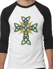 Irish Cross Men's Baseball ¾ T-Shirt