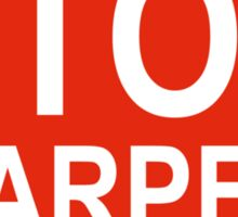 Stop Harper Sticker