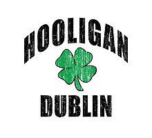 Irish Hooligan Dublin Photographic Print