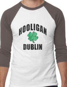 Irish Hooligan Dublin Men's Baseball ¾ T-Shirt