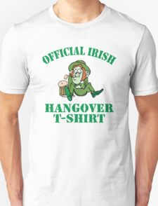 Official Irish Hangover T-Shirt
