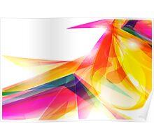 Color Vortexes Poster