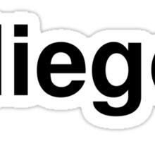 diego Sticker