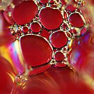 Little Red Bubbles by BobbiFox