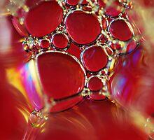 Little Red Bubbles by BobbiFox