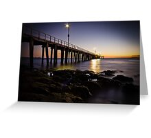 Dawn at Point Lonsdale #1 Greeting Card