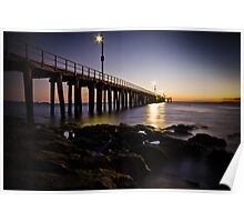 Dawn at Point Lonsdale #1 Poster