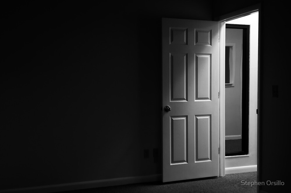 "Dark and mysterious room"" by Stephen Orsillo 