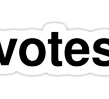 votes Sticker