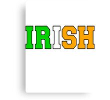 Irish Canvas Print