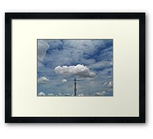 ©HCS Tower Cap IA. Framed Print