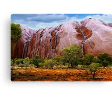 Waterfalls on Ayres Rock Canvas Print