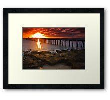 Sunrise at Point Lonsdale #2 Framed Print