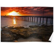 Sunrise at Point Lonsdale #2 Poster
