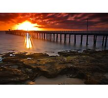 Sunrise at Point Lonsdale #2 Photographic Print