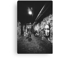 Seattle, Post Alley murals Canvas Print