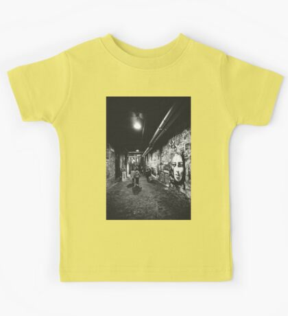 Seattle, Post Alley murals Kids Tee