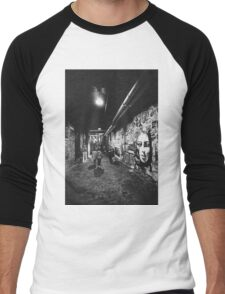 Seattle, Post Alley murals Men's Baseball ¾ T-Shirt