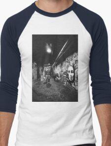 Seattle, Post Alley murals Men's Baseball ¾ T-Shirt